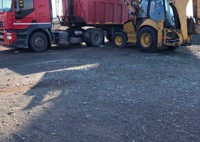 Cap tractor + semiremorca basculabila 28 mc. - premiumoviserv.ro s001